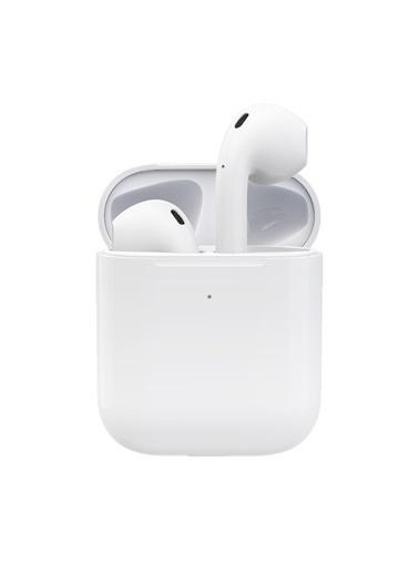 NATIVE AUDIO Native Audio i27 TWS AirPods2 tooth 5.0 Kablosuz Kulaklık (Kablosuz Şarj, Gerçek Şarj Göstergesi, Kulak Sensörü) Beyaz